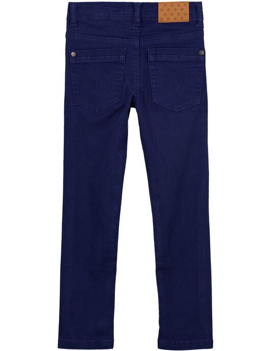 Pantalon Slim Stretch Marine GOJOPATWI3 / 19W90241D2B070
