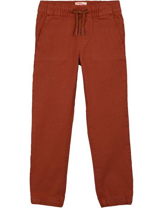 Pantalon Marron Ultra stretch GOSANPAN2 / 19W902C1PAN817