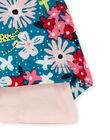 Robe maxi fleurs bébé fille KIBRIROB1 / 20WG09F2ROBC217