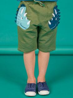 Bermuda kaki enfant garçon LOVERBER3 / 21S902Q3BERG631