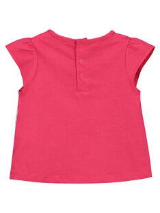 Tee-shirt fantaisie bébé fille FIJOTI6 / 19SG09G1TMC304
