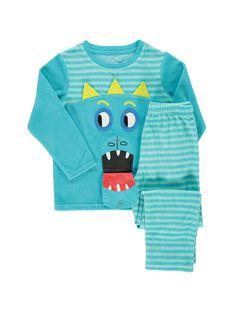 Pyjama en velours garçon CEGOPYJBOU / 18SH1241PYJ202