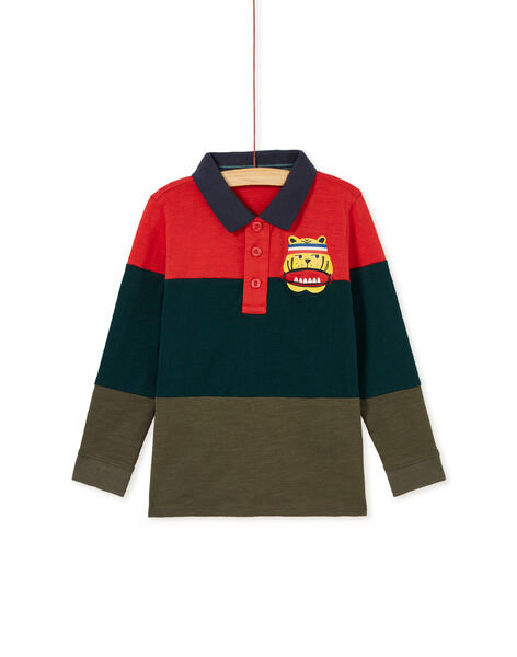 Polo color block enfant garçon KOBRIPOL / 20W902F1D57502