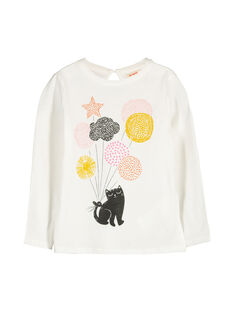 Tee-shirt manches longues fille FALITEE2 / 19S90122TML001