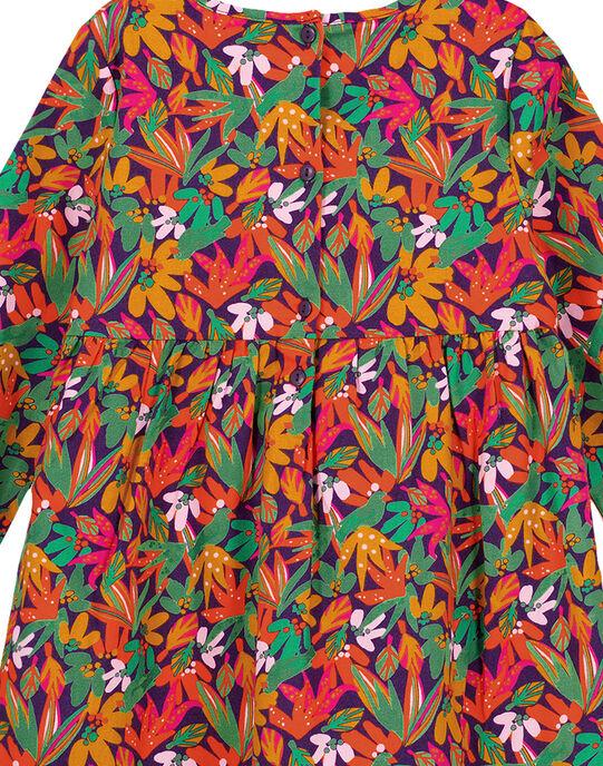 robe imprimée doublée en twill gratté GAVIOROB1 / 19W901R1ROB708