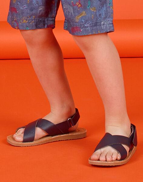 Sandales Bleu marine LGSANDLEO / 21KK3658D0E070