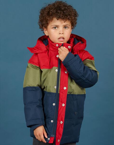 Doudoune color block à capuche enfant garçon MOGRODOU1 / 21W90251D3E505