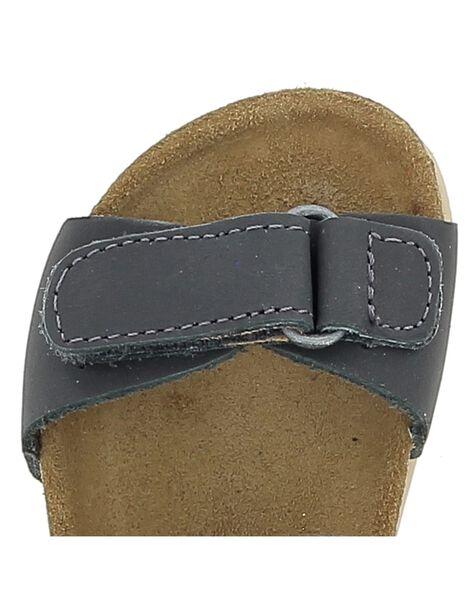 Sandale en cuir bébé garçon CBGNUVEL2 / 18SK38W9D0E940