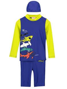 Tee-Shirt anti-uv Bleu FYOMERSETEX / 19SI02K2TUVC214