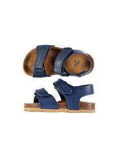 Sandales Bleu FBGNUBLUE / 19SK38D3D0EC218