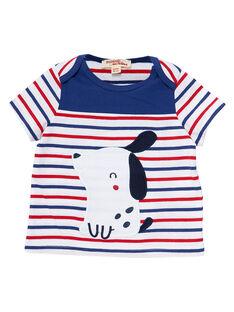 Tee Shirt Manches Courtes Blanc JUGRATEE1 / 20SG10E1TMC000