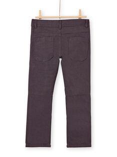 Pantalon garçcon gris doublé polaire KOLUPAN1 / 20W902P3PANJ918