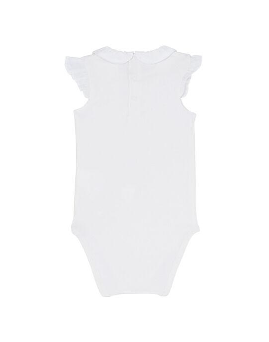 Body écru bébé fille JIDUBOD / 20SG09O1BOD001