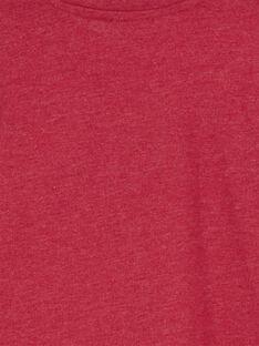 Tshirt Manches Longues Grenat GOJOTICHI2 / 19W902L3D32F520