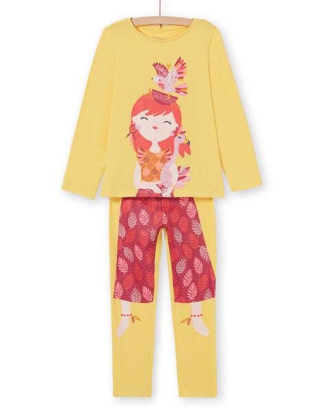 Pyjama Jaune  LEFAPYJBIR / 21SH11S1PYGB116