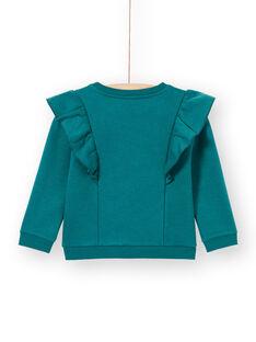 Sweat Shirt Vert MAKASWEA / 21W901I1SWEG633