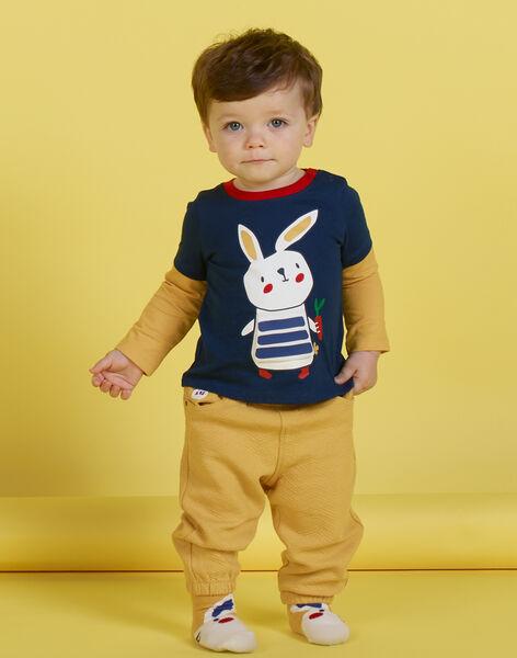 Pantalon jaune bébé garçon MUMIXPAN2 / 21WG10J1PAN117