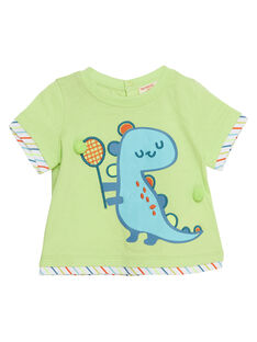 Tee Shirt Manches Courtes Jaune JUBOTI2 / 20SG10H1TMC108
