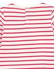 Tee Shirt Manches Longues Ecru GANOTEE / 19W901V1TML001