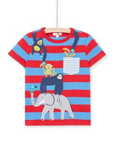 Tee Shirt Manches Courtes Bleu  LOVITI2 / 21S902U5TMC201