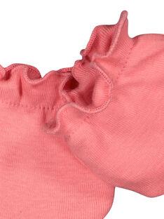 Moufles de naissance bébé fille FOU1GAN1F / 19SF4211MFND300