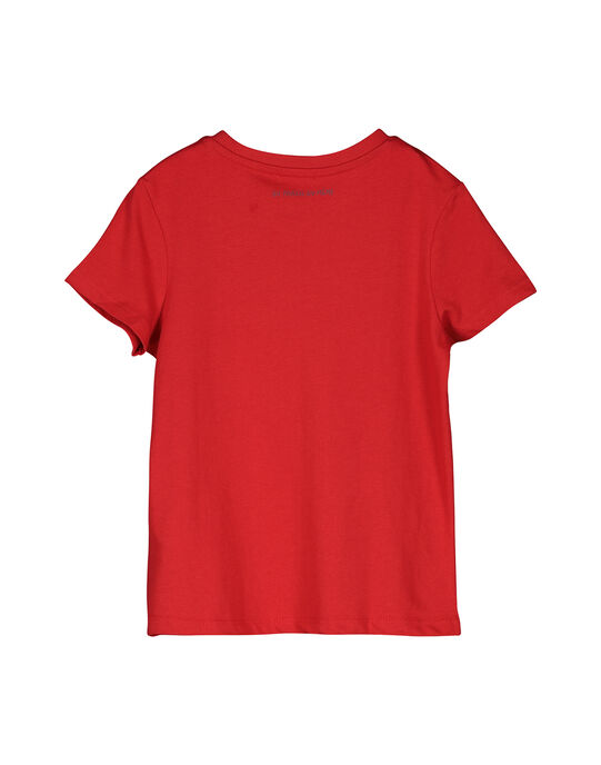 Tee Shirt Manches Courtes Rouge FOJOUNITI3 / 19S902Y3D31F505
