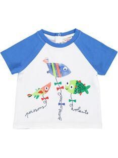 Tee-shirt manches courtes bébé garçon CUMATI2 / 18SG10U2TMC000