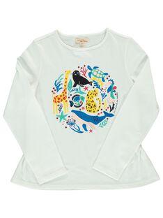 Tee-shirt manches longues fille DANAUTEE1 / 18W901G1TML001