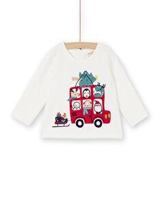 Tee-shirt manches longues bébé garçon KUNOTEE / 20WG10Q1TML001