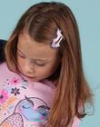 Lot de 4 barrettes assorties enfant fille MYAJOCLIC6 / 21WI01S6BRT957
