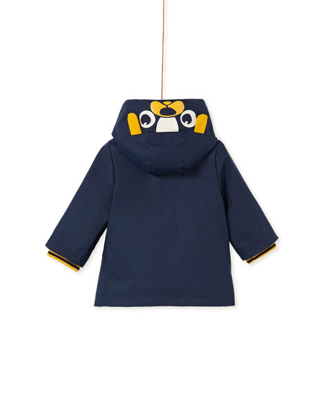 Imperméable à capuche bébé garçon KUGROIMP / 20WG10J1IMP713