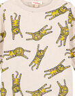 Tshirt Imprimé Ecru Chiné GOMUTEE4 / 19W902F4TMLA011