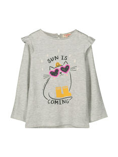 Tee-shirt manches longues fille FALITEE1 / 19S90121TML943