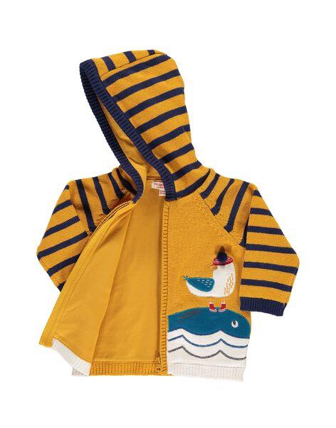 Gilet zippé à capuche bébé garçon DUNAUGIL / 18WG10G1GIL104