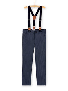 Pantalon à bretelles garçon KONOPAN / 20W902Q1PAN940