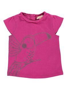 Tee-shirt manches courtes bébé fille CIJOTI10 / 18SG09S4TMC304