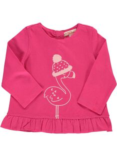Tee-shirt manches longues bébé fille DIJOTEE2 / 18WG0932TML310