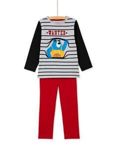 Pyjama enfant garçon imprimé ours KEGOPYJOUR / 20WH12I6PYJJ922