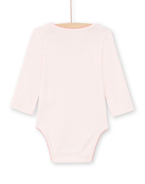 Body rose pâle bébé fille MEFIBODCHOU / 21WH13B1BDLD310