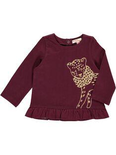 Tee-shirt manches longues bébé fille DIJOTEE4 / 18WG0934TML719