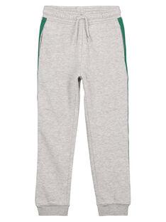 Pantalon de Jogging Gris Chiné GOJOJOB3 / 19W90234D2AJ922
