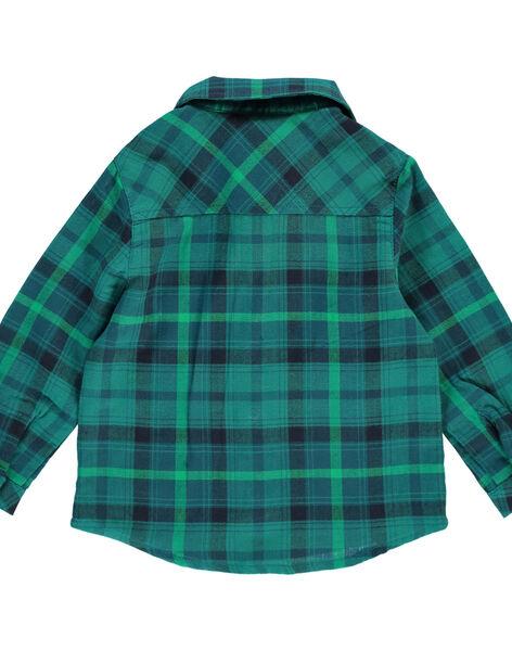 Chemise à carreaux bébé garçon DUVECHEM / 18WG1071CHM099