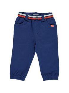 Pantalon en molleton bébé garçon CUDEPAN2 / 18SG10F2PAN703