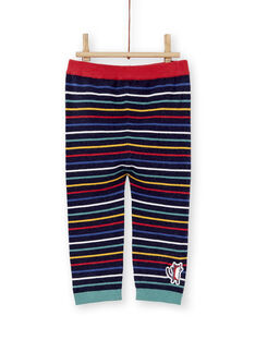 Pantalon en maille rayé bébé garçon KULUPAN1 / 20WG10P1PANC205