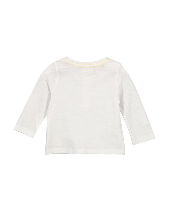 Tee-shirt col tunisien bébé garçon FUJOTUN5 / 19SG1035TML000