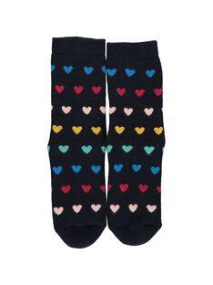 Chaussettes épaisses antidérapantes fille DYANAUCHODER / 18WI01G2SOQ099