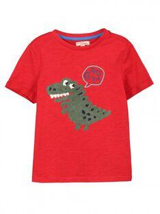 Tee-shirt manches courtes garçon FOTOTI3 / 19S902L3TMCF505