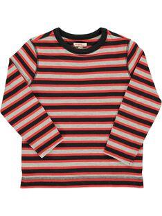 Tee-shirt rayé garçon DOROUTEE6 / 18W90226TML099