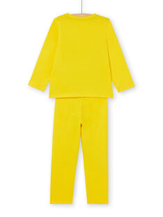 Pyjama Jaune  LEGOPYJMAN4 / 21SH12S4PYGB105