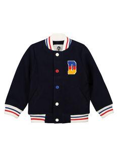 Blouson style Teddy garçon FOGROVES2 / 19S902X2VES705